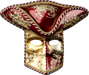 Venezianische Maske 1